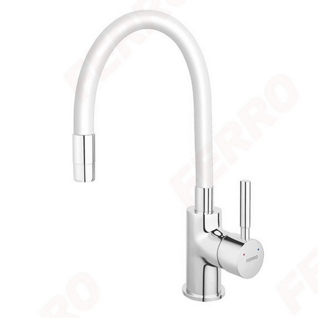 slavina-za-sudoper-sa-savitljivim-izljevom-ferro-zumba-bijela